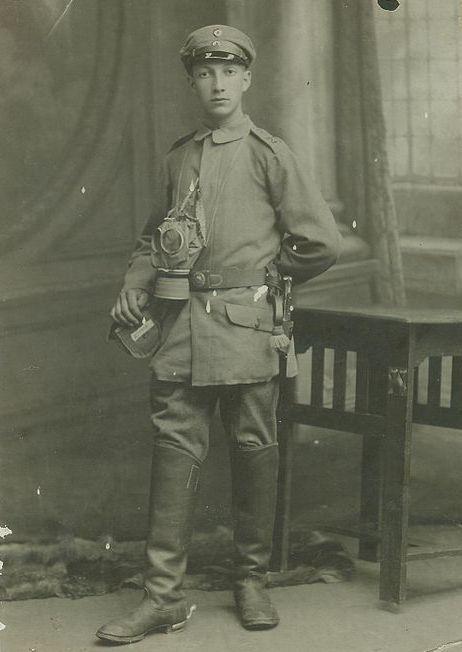 W czasie I wojny światowej w szeregach niemieckiej armii walczyło aż 12 tysięcy żydowskich żołnierzy. Wśród nich był również Willi Ermann, który później zginął w Auschwitz (źródło: domena publiczna).