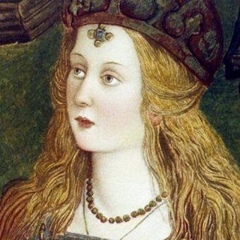Lukrecja Borgia jako św. Katarzyna ze Sieny na obrazie Pinturicchiego (źródło: domena publiczna).