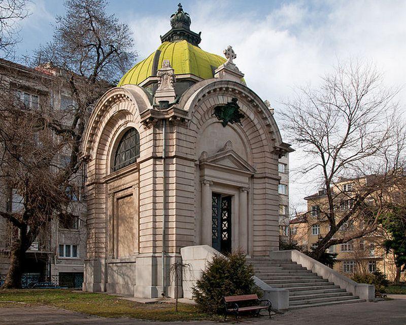 Mauzoleum Battenbergów w stolicy Bułgarii Sofii (fot. Plamen Agov, lic. CC ASA 3.0).