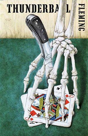"""Blofeld po raz pierwszy wystąpił na kartach powieści """"Operacja Piorun"""". Powyżej okładka pierwszego wydania."""