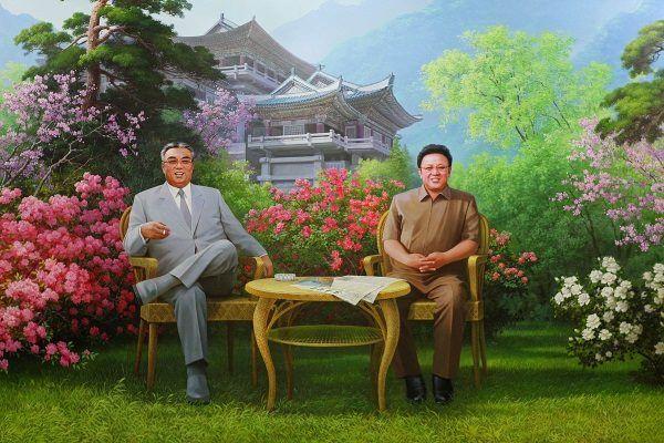 Wieczny Prezydent i Wielki Przywódca razem (zdjęcie opublikowane na licencji CCA SA 2.0, autor Roman Harak)