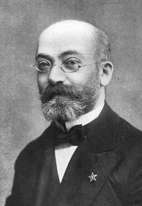 Ludwik Łazarz Zamenhof, twórca esperanto i Polak żydowskiego pochodzenia (źródło: domena publiczna).