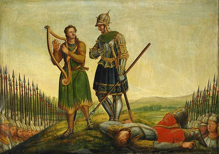 Pierwszym mężem Świętosławy miał być szwedzki władca Eryk Zwycięski (tutaj na obrazie z 1835 roku). Jednak wiele wskazuje na to , że ta dwójka nigdy się nawet nie poznała (źródło: domena publiczna).