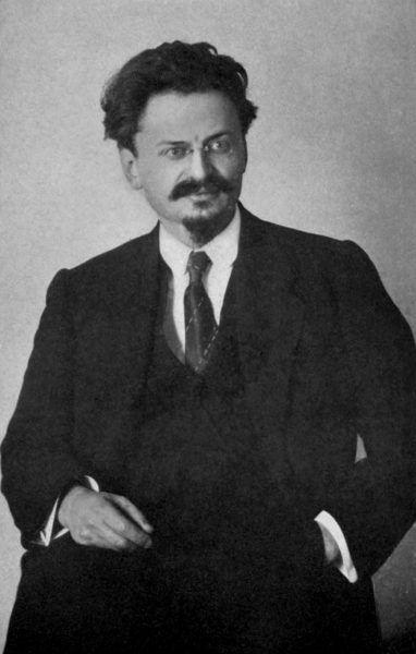 Trockiemu nie pomogło nawet wierne trzymanie się poglądów Lenina (fot. domena publiczna).