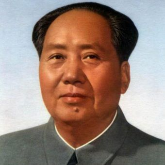 """Mao Zedong był tak """"dobrym"""" ojcem, że nawet nie wiedział ile miał dzieci (źródło: domena publiczna)."""