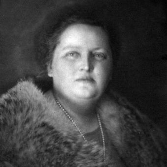 Maria Wojciechowska jako prezydentowa. Oficjalna fotografia z 1926 roku