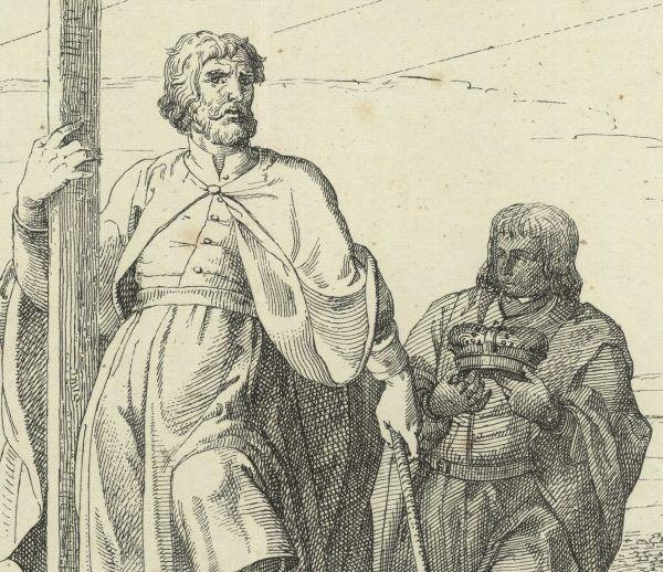 Mieszko I na XIX-wiecznej litografii. Prawdziwie ponętny kawaler?