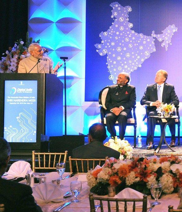 Premier Narendra Modi pokazał, że ma bardzo silną wolę i potrafi ją przekuć w polityczny atut (zdjęcie z wizyty w USA w 2015 roku, Narendra Modi - PM in US, lic. CC BY-SA 2.0).