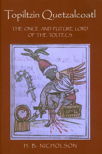 """Artykuł został oparty m.in. na książce Henry'ego B. Nicholsona pt. """"Topiltzin Quetzalcoatl. The Once and Future Lord of the Toltecs"""" (University Press of Colorado 2001)."""