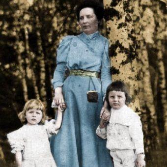 Czy to jej gniew doprowadził do bratobójczej walki w maju 1926 roku? (źródło: domena publiczna; koloryzacja: RK).