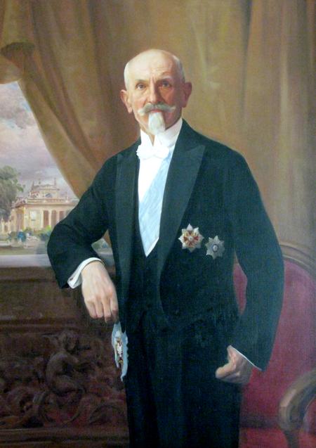 Prezydent Wojciechowski na portrecie pędzla Kazimierza Dunin-Markiewicza (źródło: domena publiczna).