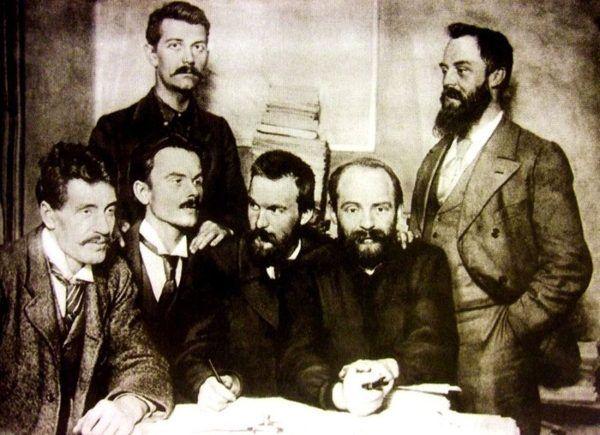 Działacze Polskiej Partii Socjalistycznej. Na zdjęciu sami mężczyźni, ale to nie znaczy, że w PPS-ie brakowało bohaterskich kobiet...