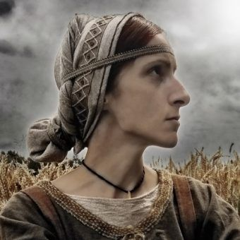 Katarzyna Czylok jako Oda na fotografii Sylwestra Zalewskiego.