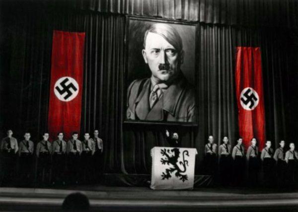 Zdaniem Hitlera Żydzi sami byli sobie winni i to na nich spoczywała odpowiedzialność za Holokaust (zdj. domena publ.).