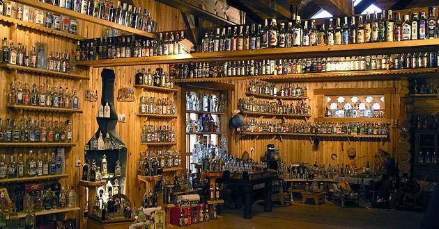 Muzeum Wódki pod Petersburgiem. Rosyjska kultura alkoholowa w pigułce! (fot. Veikia, lic. CC ASA 3.0).