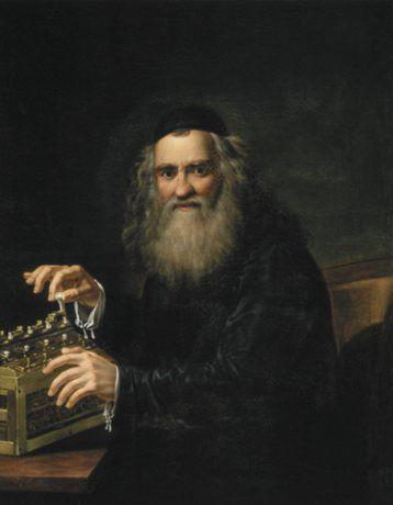 Abraham Stern na portrecie autorstwa Jana Antoniego Blanka.