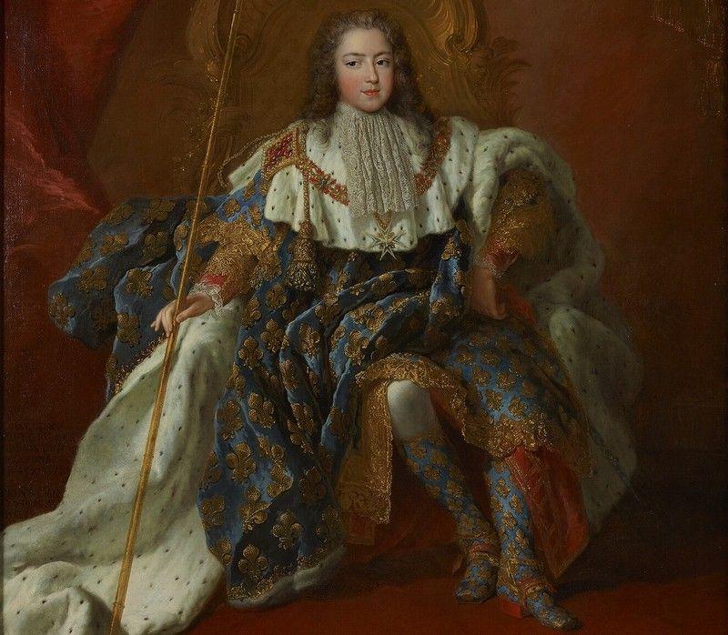 12-letni Ludwik XV w oczekiwaniu na kobietę swego życia (obraz Alexisa Simona Belle'a, źródło: domena publiczna).