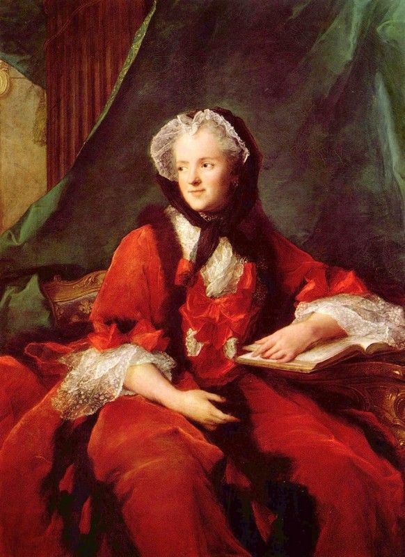 Maria Leszczyńska mogła o swym mężu myśleć jako o królu i dzieciuchu jednocześnie... (obraz Jeana-Marca Nattiera, źródło: domena publiczna).