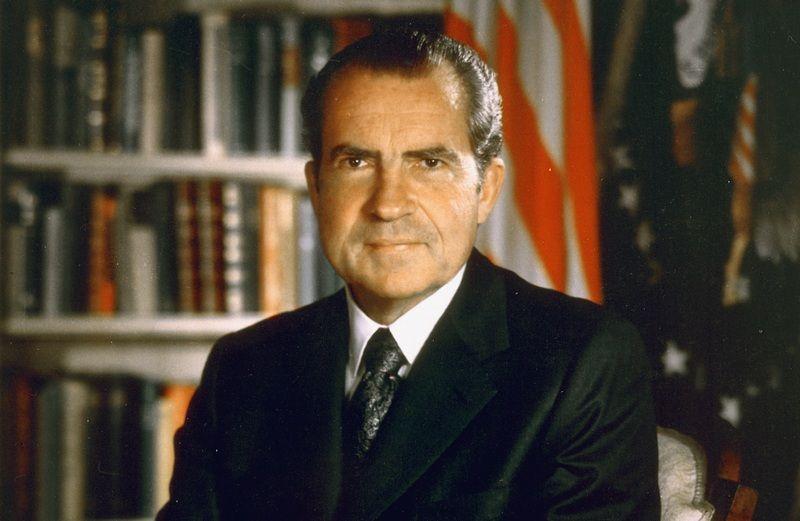 Prezydent Nixon czyli... prawdziwa twarz Imperatora? (źródło: domena publiczna)