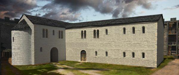 Pierwsza polska szkoła dworska powstała zapewne tutaj: w palatium Mieszka I na Ostrowie Tumskim.