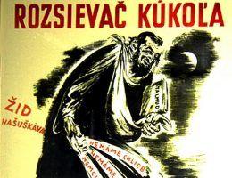 Antysemicki plakat z okresu Pierwszej Republiki Słowackiej (źródło: domena publiczna).