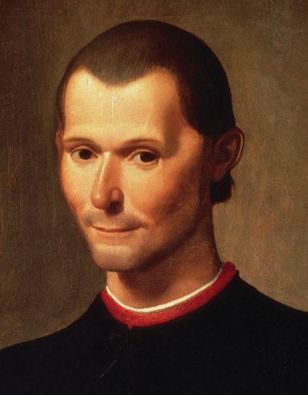 Niccolo Machiavelli - człowiek, który uczył się od Borgiów. Obraz Santi di Tito (źródło: domena publiczna).