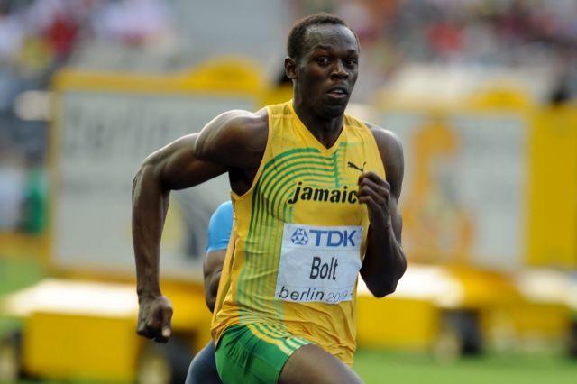 Ciekawe, co by na takie porównania do Jar Jar Binksa powiedział jamajski sprinter Usain Bolt (zdjęcie z Mistrzostw Świata w Lekkiej Atletyce w 2009 roku w Berlinie, autor: Erik van Leeuwen - http://www.erki.nl/, lic. GFDL).