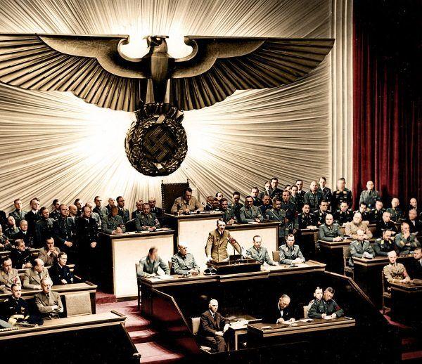 Naziści na gwałt starali się dorobić historyczne pseudofakty do swojej ideologii...