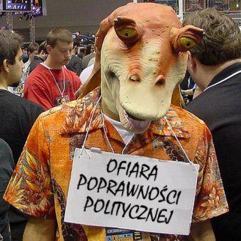 Poprawność polityczna zatacza coraz szersze kręgi, dotykając kolejnych bohaterów Gwiezdnych Wojen (fot. The Conmunity - Pop Culture Geek, lic. CC BY 2.0, ze zmianą tekstu).