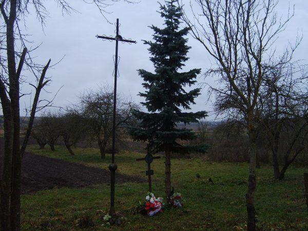 Kryże na miejscu bitwy pod Kodziowcami (fot. Ministerstwo Spraw Zagranicznych Rzeczypospolitej Polskiej, CC BY-ND 2.0).