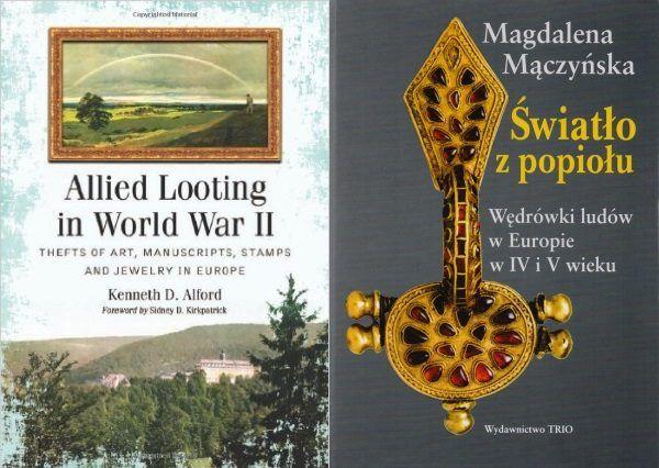 Powyżej dwie książki traktujące o hitlerowskich fałszerstwach. Między innymi na nich oparliśmy nasz artykuł.