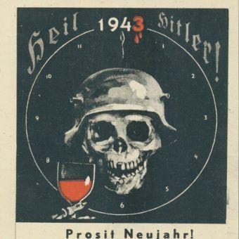 Radziecki plakat propagandowy (domena publiczna).
