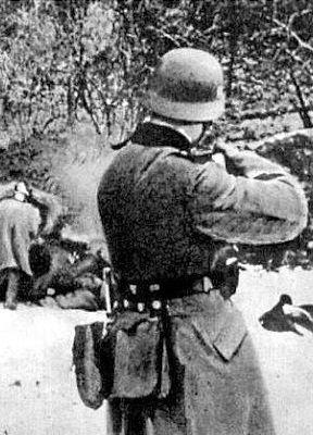 Jak tu świętować, skoro na ulicach od niemieckich kul giną ludzie?