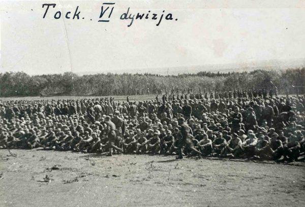 Polscy żołnierze w Tocku.