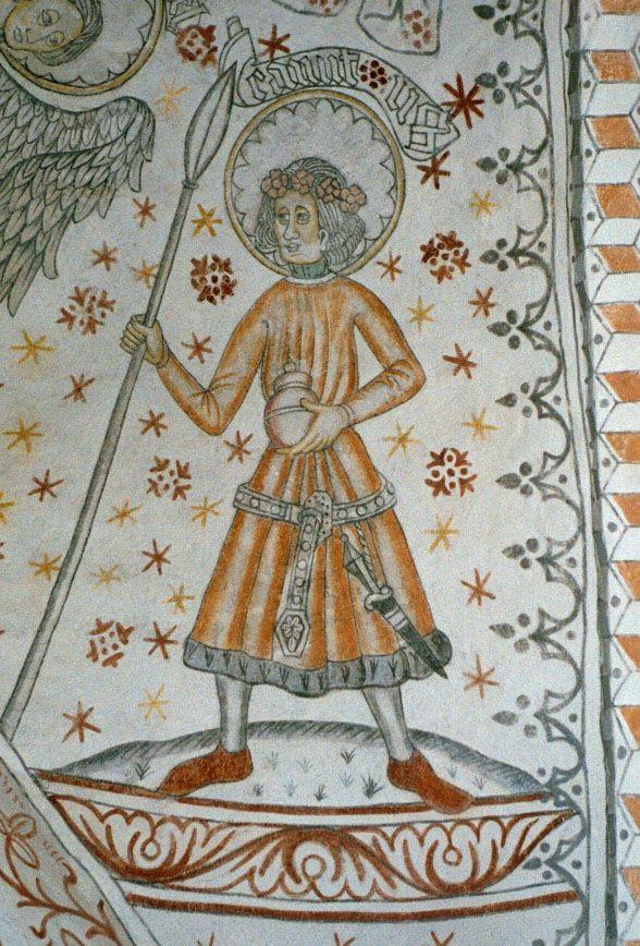Kanut Laward z Danii władał Obodrytami już tylko z woli cesarza (obraz z Vigersted w Danii, źródło: domena publiczna).
