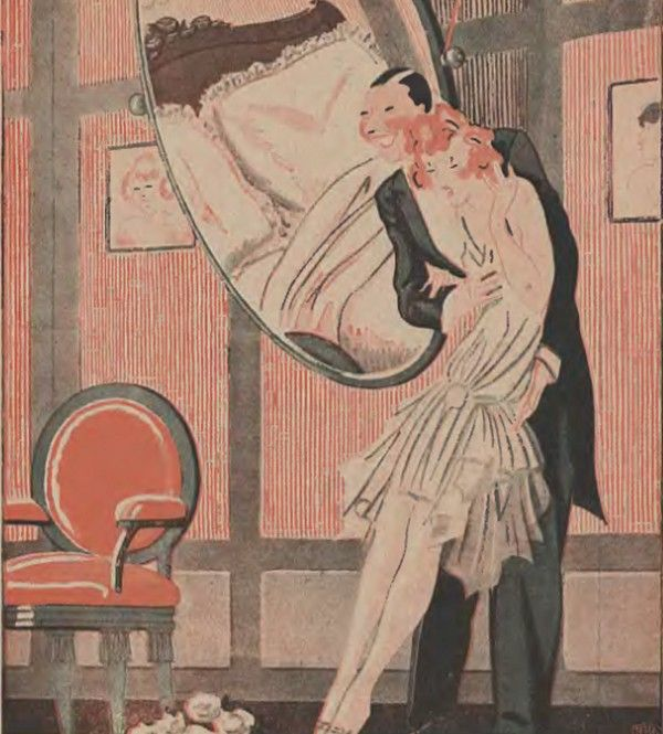Młode kobiety w noc poślubną bały się seksu. Rolą mężczyzny było przezwyciężenie obaw małżonki (źródło: domena publiczna).