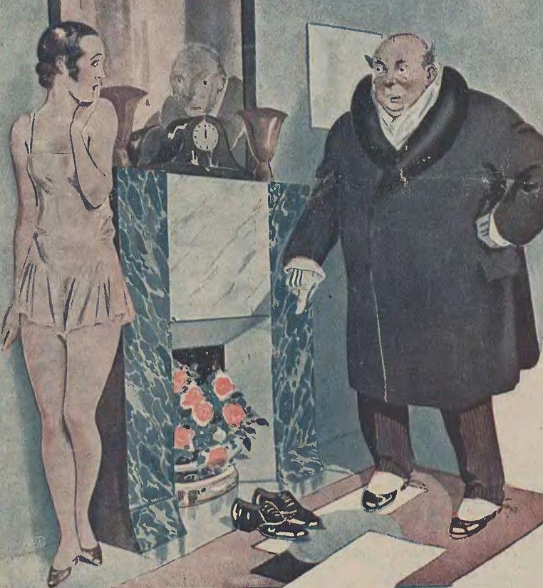 Trudno się dziwić strachowi młodych mężatek, skoro nawet lekarze przestrzegali mężczyzn przed nadmierną brutalnością (źródło: domena publiczna).