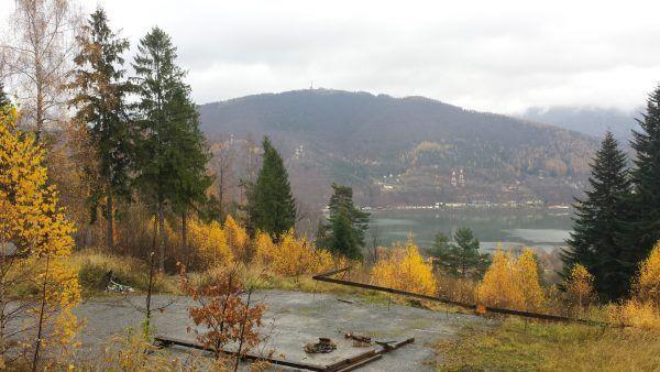 Dokładnie w tym miejscu znajdował się ośrodek Solahütte (fot. Łukasz Bieniek).