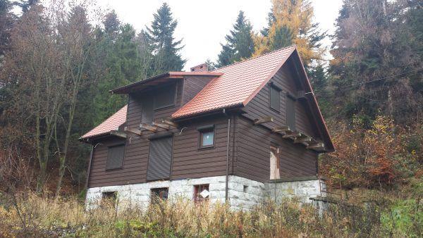 Willa w Solahütte, stan dzisiejszy (fot. Łukasz Bieniek).
