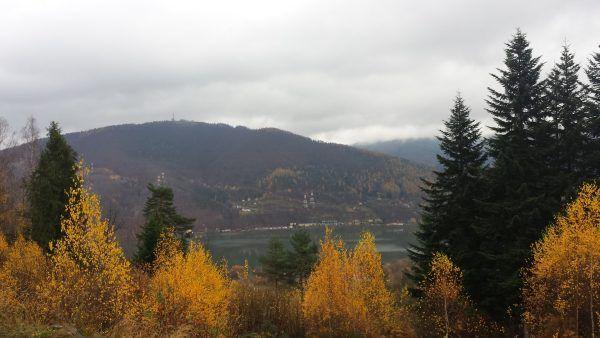 Panorama z miejsca dawnego ośrodka (fot. Łukasz Bieniek).