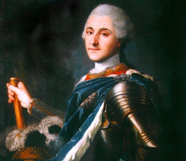Anna Hadik długo nie rozpaczała po rozstaniu z Lubomirskim. Pocieszenie znalazła w ramionach samego króla Poniatowskiego (źródło: domena publiczna).