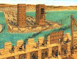 Zdobycie Tyru było jednym z największych sukcesów Aleksandra Wielkiego (źródło: domena publiczna).