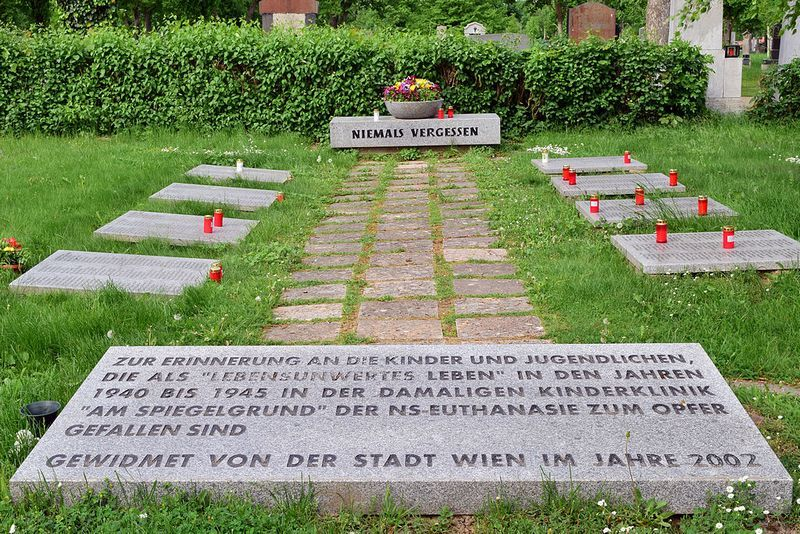 W klinice Spiegelgrund zamordowano co najmniej 789 dzieci. Wiele z nich miał na swoim sumieniu doktor Heinrich Gross (fot. Haeferl; lic. CC BY-SA 3.0).