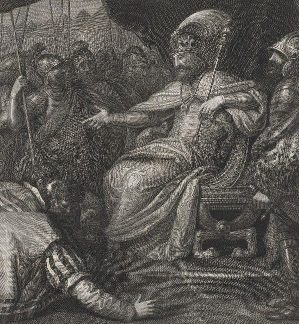 Zwycięski Mieszko II w wyobrażeniu Franciszka Smuglewicza.