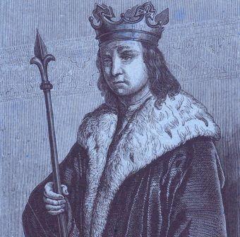 Mieszko II na XIX-wiecznym drzeworycie.