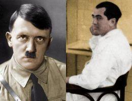 Adolf Hitler i jego niedoszły zięć doktor Erwin Jekelius (źródło: domena publiczna).