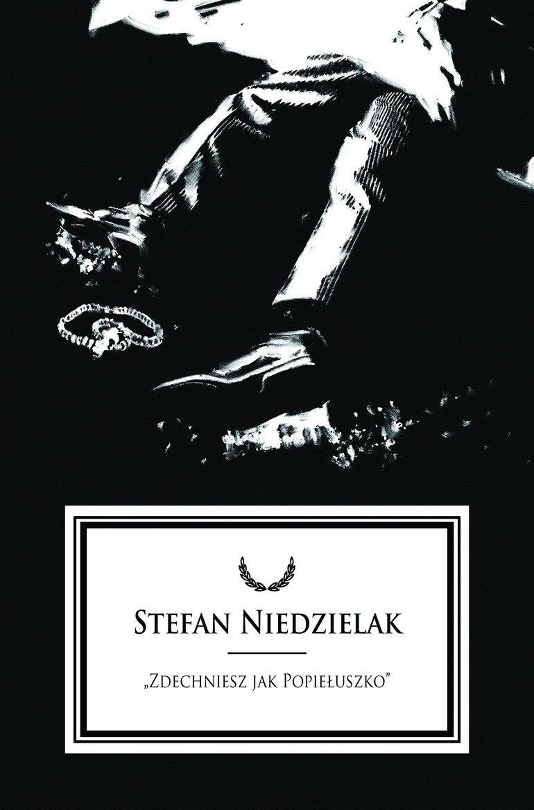 """Stefan Niedzielak. Rysunek Grzegorza Araszewskiego z książki Patryka Pleskota """"Zabić. Mordy polityczne w PRL""""."""