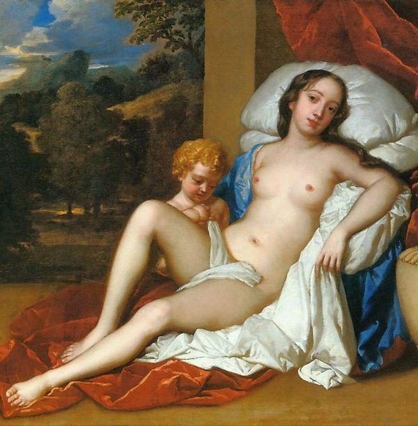 Nastoletnia metresa króla Karola II Stuarta. To jednak już XVII wiek, a nie średniowiecze!