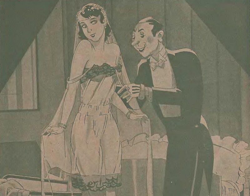 Od nocy poślubnej mogło zależeć całe pożycie małżeńskie (źródło: domena publiczna).