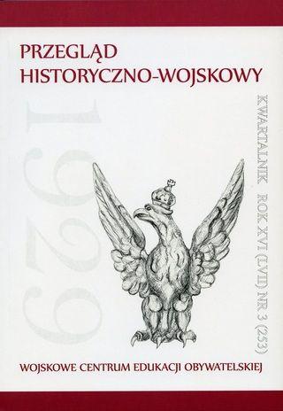 """Materiał powstał w oparciu o tekst Jana Szkudlińskiego opublikowany w """"Przeglądzie Historyczno-Wojskowym""""."""